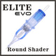 Cartouches ELITE EVO - Round Shader 0.35mm - Medium taper - Boite de 20