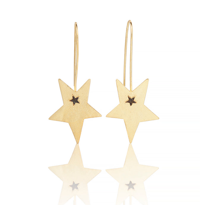 SHOOTING STAR EARRINGS - Sarah Stretton