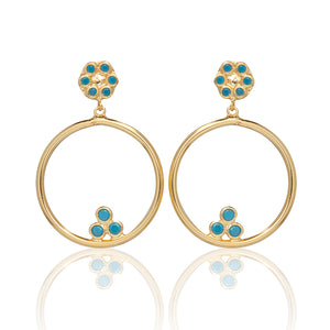 NATALIA EARRINGS - Sarah Stretton