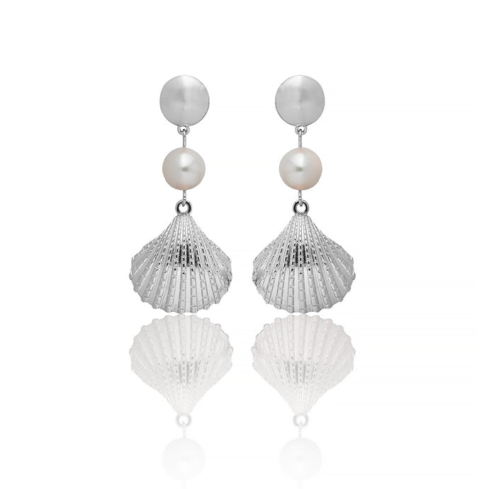 CONCH EARRINGS - PETITE - Sarah Stretton