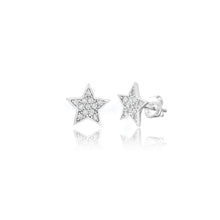Load image into Gallery viewer, COSMIC STAR STUD EARRINGS - Sarah Stretton