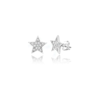 COSMIC STAR STUD EARRINGS - Sarah Stretton