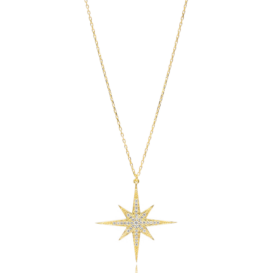 STARBURST NECKLACE - Sarah Stretton