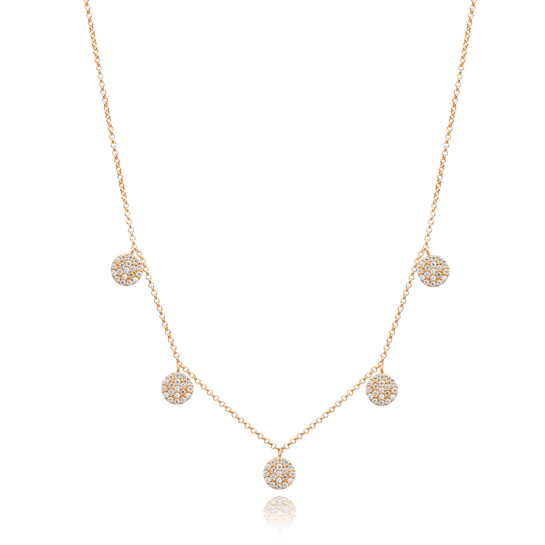 ANGELIC DROP NECKLACE - Sarah Stretton