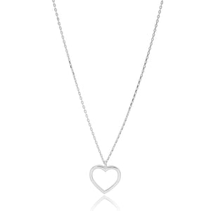 OPEN HEART NECKLACE - Sarah Stretton