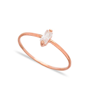 BAGUETTE RING - Sarah Stretton