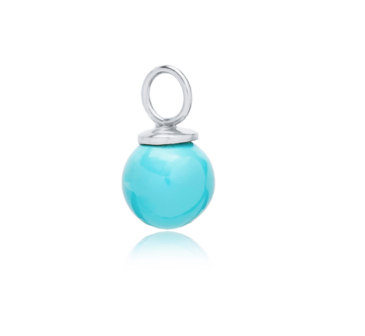 SPHERE CHARM - TURQUOISE