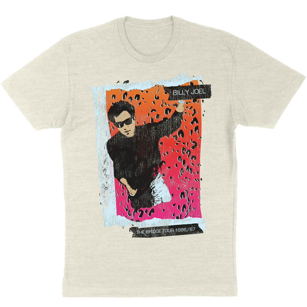 Oatmeal Unisex T-Shirt, Bridge Tour '86 / '87