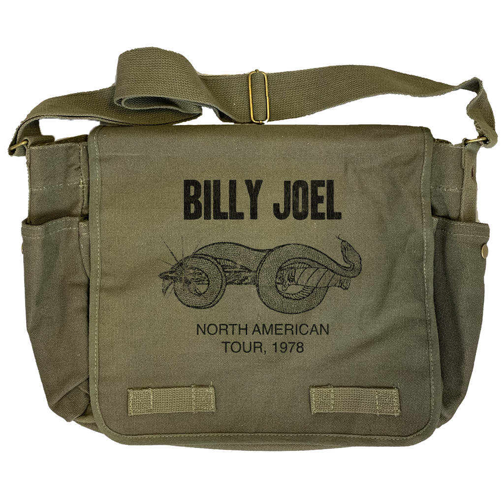 Snake and Dagger North American Tour 1978 Messenger Bag