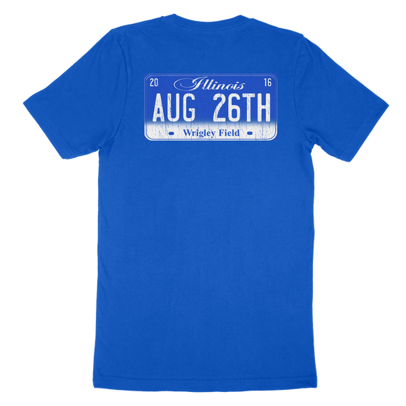 Blue 08/26/16 Chicago Motorcycle Event T-Shirt