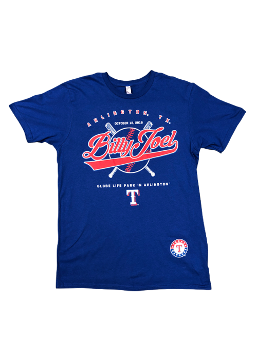 Royal Blue SS-10/12/19 Texas Rangers/MLB Event