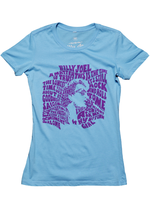 Billy Joel 2014 European Tour Womens Tee