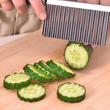 Curved Chips Potato Cutter Knife