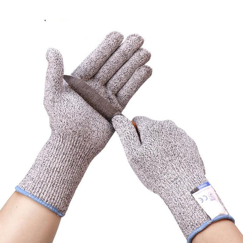 Anti Cut Proof Gloves - CUT RESISTANCE LEVEL 5