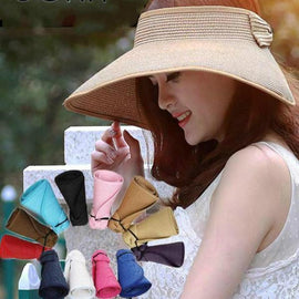 Foldable Wide Large Brim Sun Hat