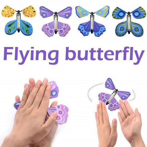 The wind-up Flying Butterfly