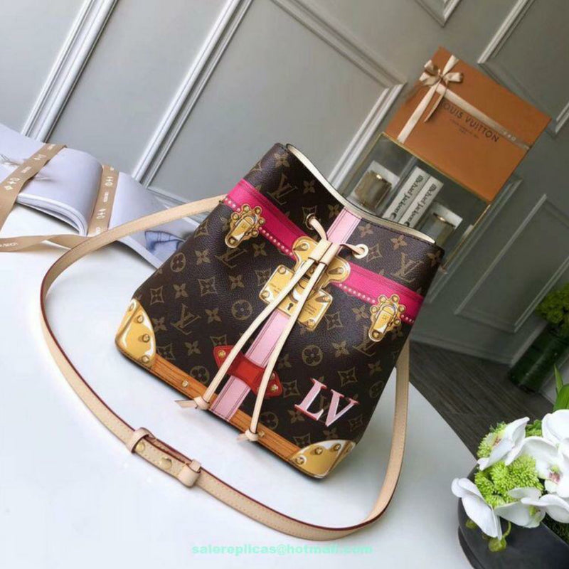 Louis Vuitton summer trunk women's bag
