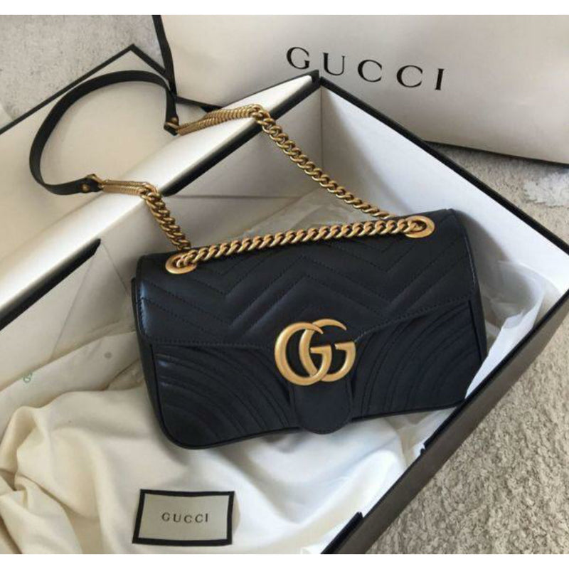Gucci Marmont Leather Sling