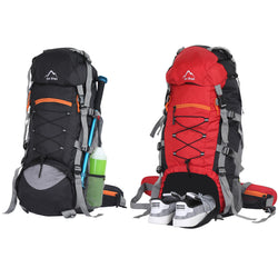 Yo! Combo Hiking Camping Backpack 65L With Rain Cover