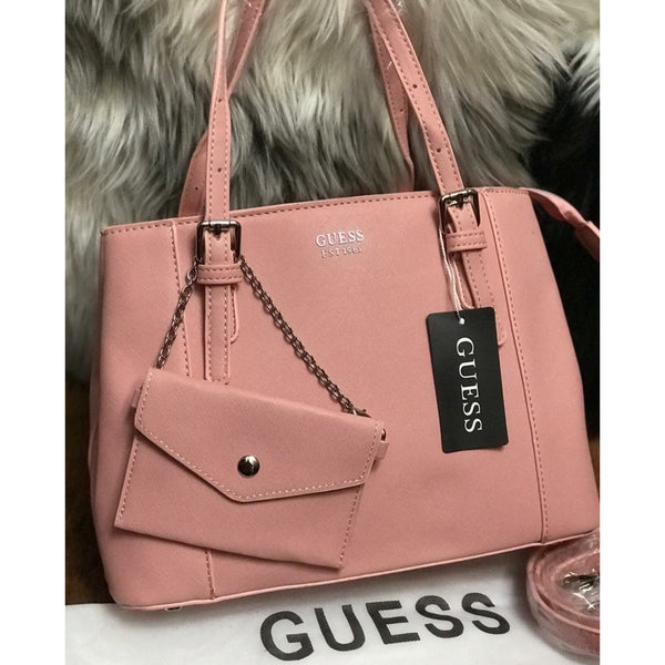 Guess Handbag With Pouch