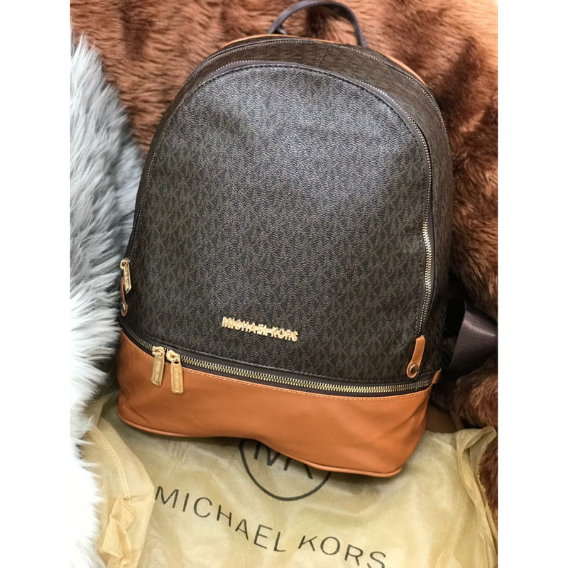 Michael Kors Medium Logo Print Rhea logo print Backpack