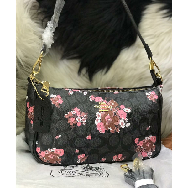 Coach Floral Mini Sling