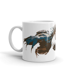 Cock Fight - Round #1 Handle Mug