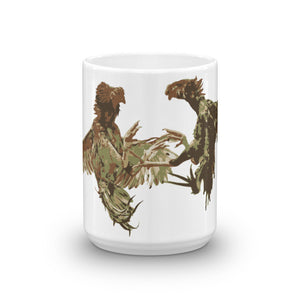Cock Fight - Round #2 Handle Mug