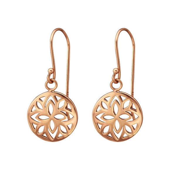 Rose Flower Earring