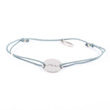 Doppelte Welle Armband  variable Bandfarbe