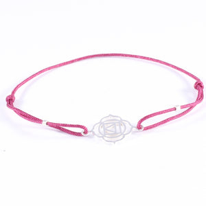 Blume Armband variable Bandfarbe