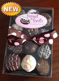 Flourless Chocolate Mini Cupcake Sampler