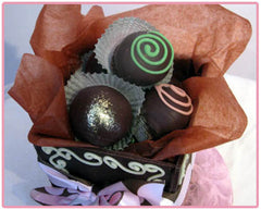 Edible Chocolate Box, 6 Truffles
