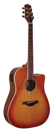 WOODSONG DCE-HONEY SUNBURST
