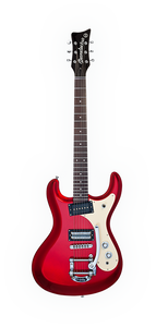 DANELECTRO 64 GUITAR RED METALLIC