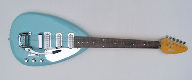 PHANTOM TEARDROP ELGITAR SEAFOAM GREEN