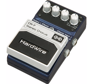 DIGITECH HARDWIRE SERIES CR-7 STEREO CHORUS GUITAR EFFECTS PEDAL