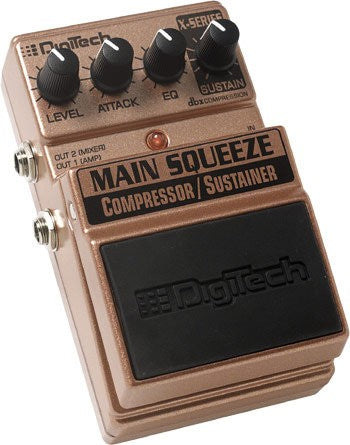 DIGITECH MAIN SQUEEZE X-SERIES COMPRESSOR SUSTAINER PEDAL