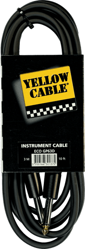 Yellow Cable gitarkabel GP63D NEUTRIK JACK/NEUTRIK JACK 10FT/3