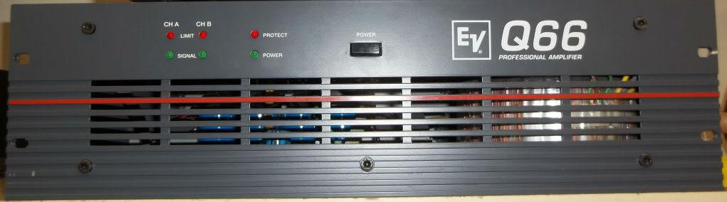 Electrovoice EV Q66 Power Amplifier