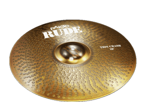 "PAISTE 19"" RUDE Thin Crash,"