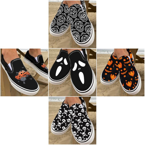 skull-canvas-fabric-flat-casual-loafers-shoes