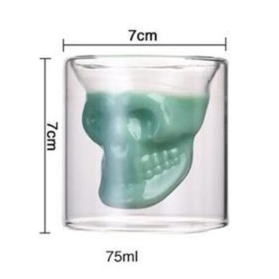 Skull In A Glass™