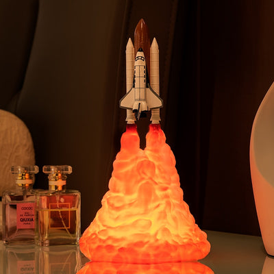 3D Printed Space Shuttle Lamp