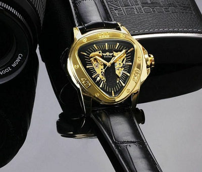 Unique Triangle Mechanical Watch