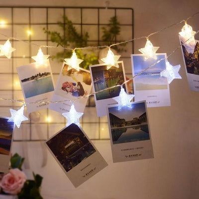 Twinkle Star Photographic String Lights