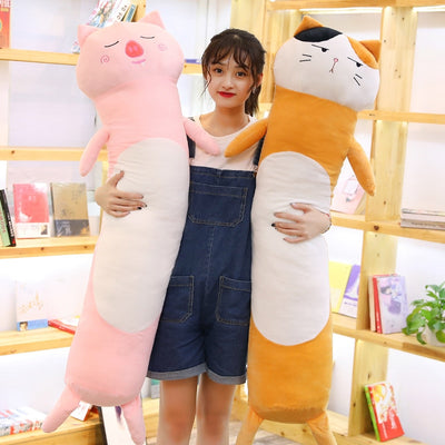 Long Animal Snuggle Plush