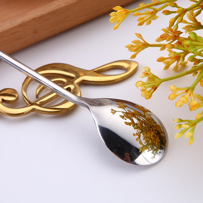 Musical Note Clef Spoon (Various Colors)