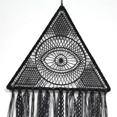 Big Dream Catcher Gothic Wall Hanging Decor