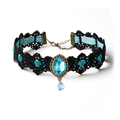 Bohemia Lace Gothic Choker Necklace